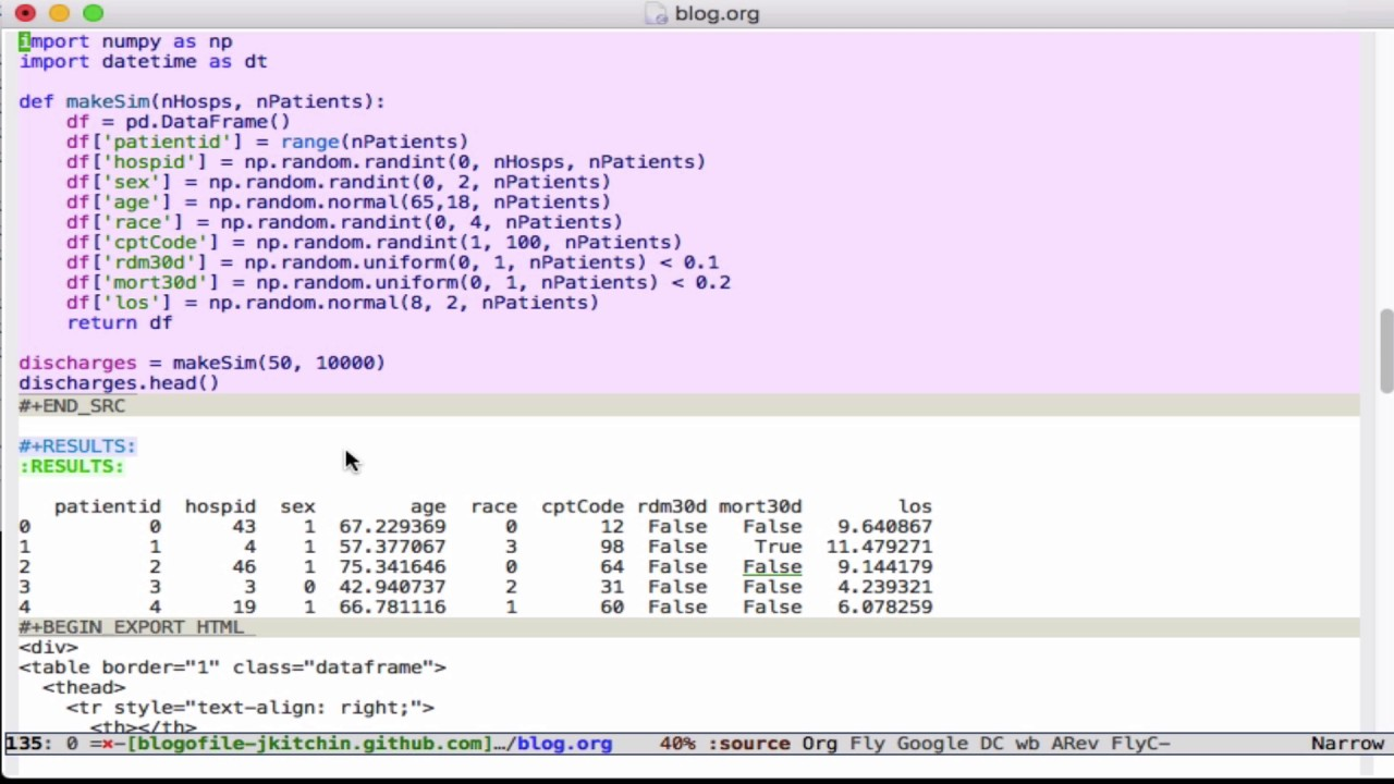Org-mode and ipython enhancements in scimax