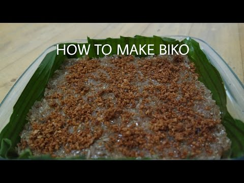 How to make Biko