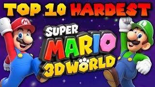 Top 10 Hardest Levels in Super Mario 3D World