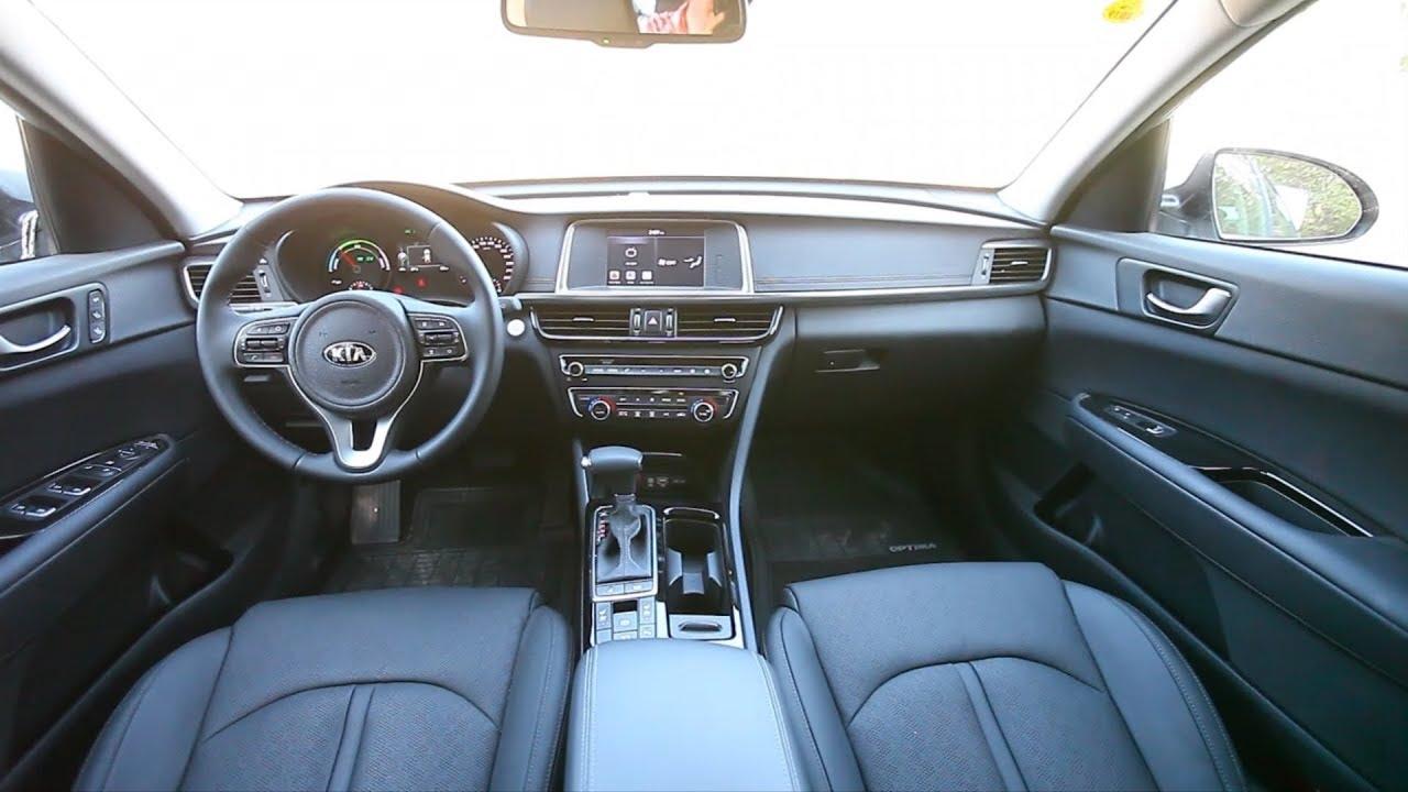 2018 Kia Optima Hybrid Interior Israeli Spec