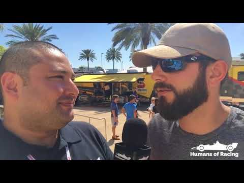 2018 INDYCAR G.P. of St. Pete Post Race Interview with Fans