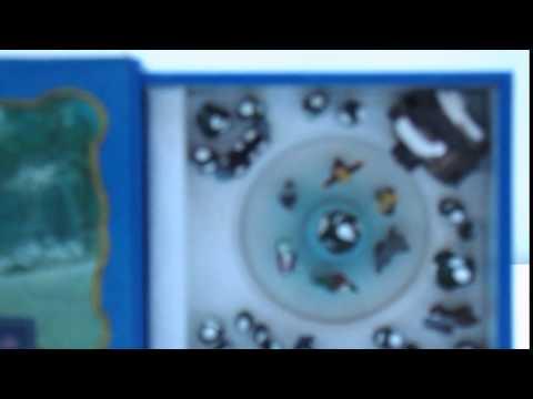 Mr Christmas Mini Matchbox Music Box Animated Winter Skating Pond Joy to World