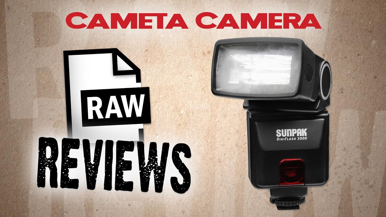 Raw Reviews Sunpak Digiflash 3000 Ttl Camera Flash For Canon Nikon Parts Diagram
