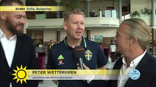VM-kval: Experterna tar tempen på sjuk förbundskapten! - Nyhetsmorgon (TV4)