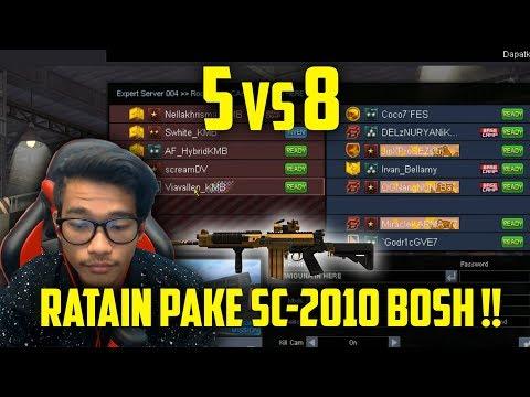 5 Vs 8 DI EXPERT?!! KMB GA PERNAH TAKUT!! // Gameplay Point Blank Zepetto Indonesia