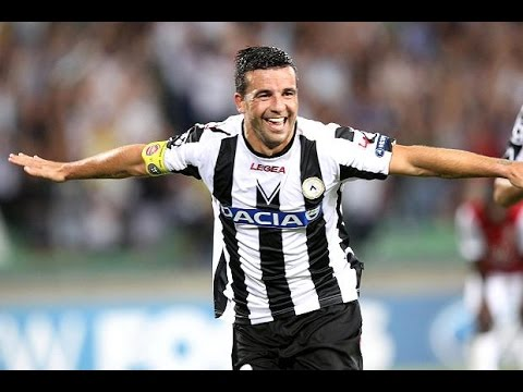 Antonio Di Natale - The Legend of Udinese | Amazing Goals HD