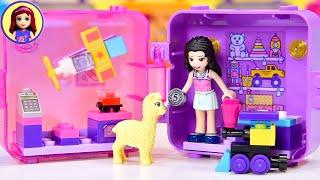 A tiny toy shop (with a llama)!!! - Emma's Shopping Cube Build