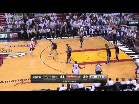Brooklyn Nets 82 x 94 Miami Heat Game 2 Playoffs May 8 NBA 2013/2014