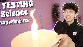 TESTING SCIENCE EXPERIMENTS! 4