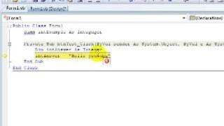 Learning VB.NET (Visual Basics) tutorial 8 - 3 Types of errors in VB.net