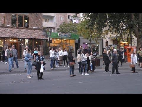 Yerevan, Tbilisyan Kh., Davitashen, 15.10.19, Tu, Video-1.