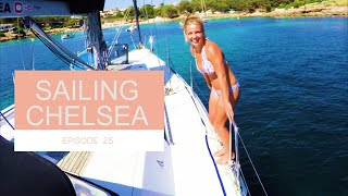 Episode 25 - Sailing Chelsea - Could you live aboard a sail boat? A typical week for us!!