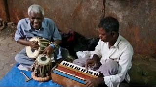 Singing For Survival Amazing Talent Of Singing & Playing Tabla Harmonium By Blind Men [HD1080p]