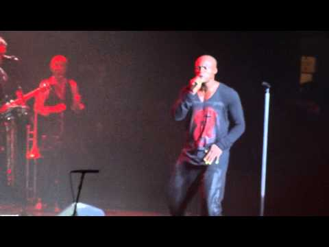 "SEAL: ""MY VISION"" - SOUL 2 Tour - Hammersmith Apollo, London, Tuesday 6 November 2012"