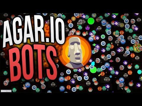 AGAR.IO HACK - 400 BOTS In Agar.io Gameplay // AMAZING BOTS! [RAGA.PW]