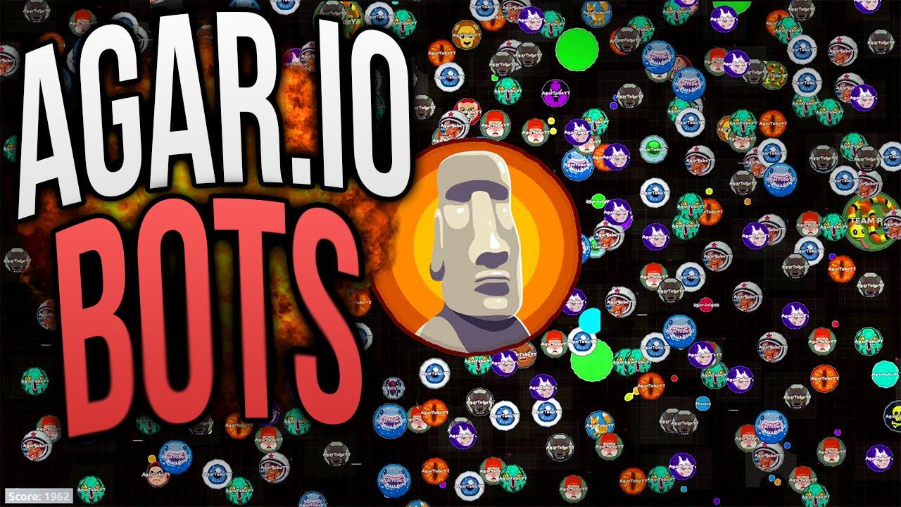 Agar Io Hack - 400 Bots In Agar Io Gameplay // Amazing Bots