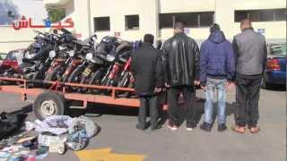 كازا.. تفكيك شبكة متخصصة في سرقة الدراجات النارية
