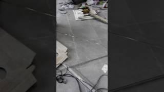 видео Металлический керамогранит