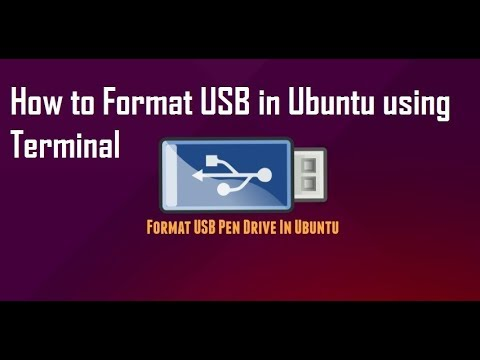 How to Format USB drive in Linux Ubuntu using terminal ( 100 % working )