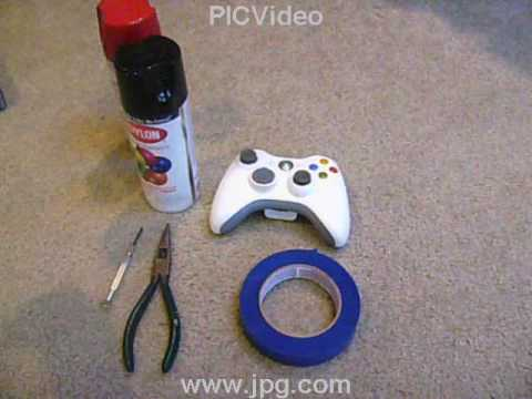How To Custom Paint Your Xbox Controller