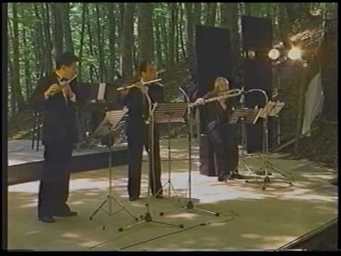 J.S.Bach: Triosonate G-dur (1) (Kazumi Sato, Takashi Tamura, Toshiaki Yokota)