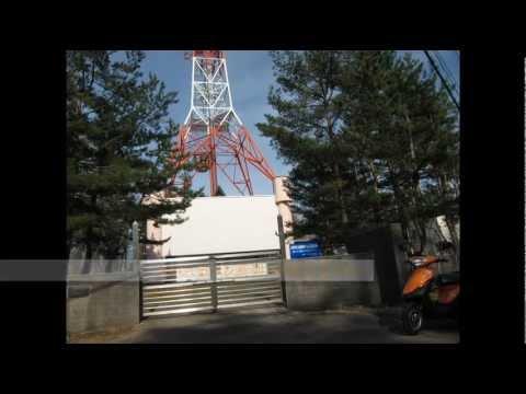 テレビの送信塔へ行って来た。