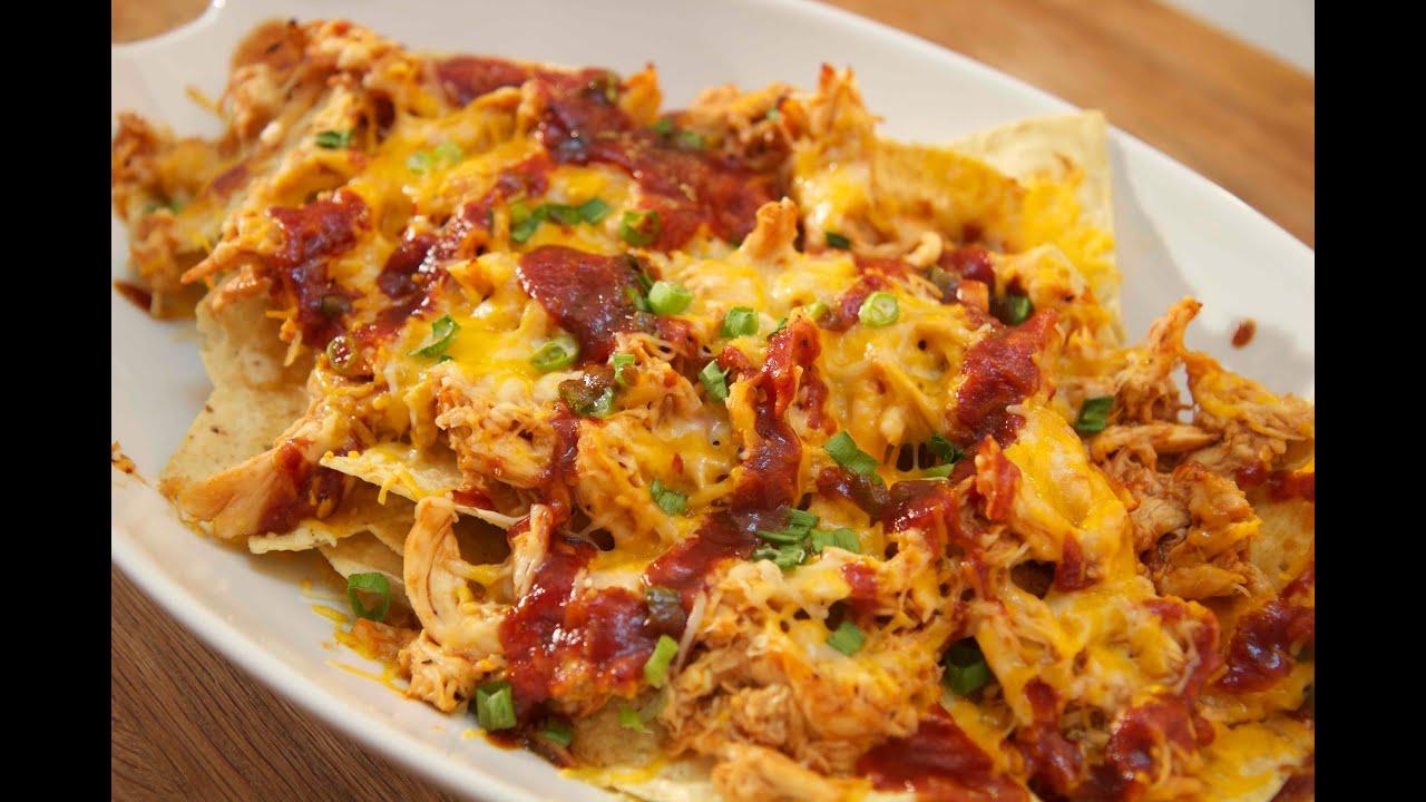 BBQ Chicken Nachos - Cooked by Julie - Episode 168 - YouTube