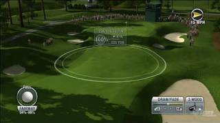 Tiger Woods PGA Tour 10 Xbox 360 Gameplay - Play The Pros