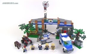 LEGO City Forest Police Station 4440 set Review!