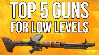 WW2 In Depth: Top 5 Guns For Low Levels (Call of Duty: WWII)