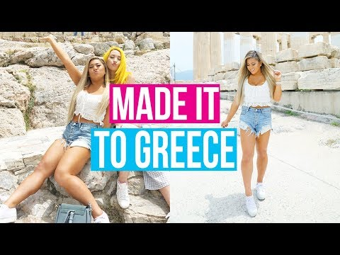 WE MADE IT TO GREECE!!!