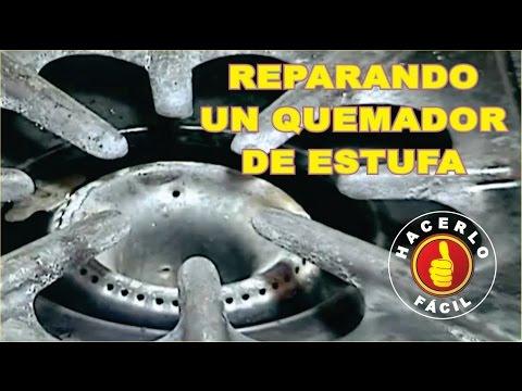 Reparando Un Quemador De Estufa - Reparación Provisional   Hacerlo Fácil