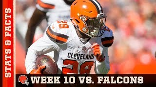 Stats & Facts: Week 10 vs. Falcons | Cleveland Browns