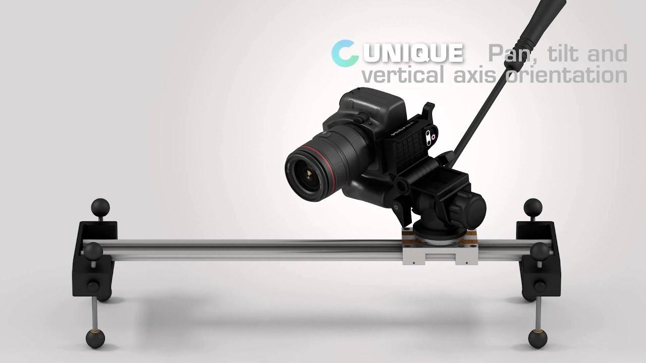Proaim Linear Video Camera Slider | Leveling System | Film-making Gear | Animation