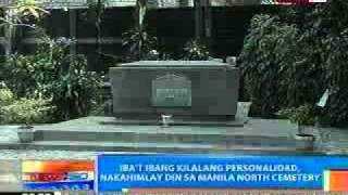 Famous People Who Buried Manila North Cemetery