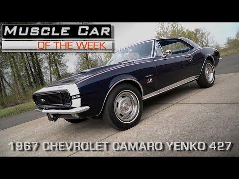 1967 Yenko 427 Camaro:  Muscle Car Of The Week Video Episode #199
