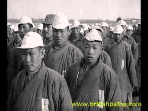 Rebuilding Shanghai  by Chinese POWs - 1937 Shanghai Incident