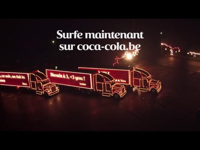 Coca-Cola Truck Tour Noël 2016