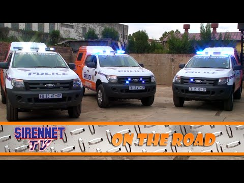 Signal Systems Metro Police JMPD Ford Rangers in South Africa