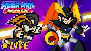 We Play Your MegaMAN Maker Levels LIVE! #39