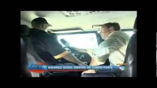 Veja como funciona segurança de carros-fortes no Rio