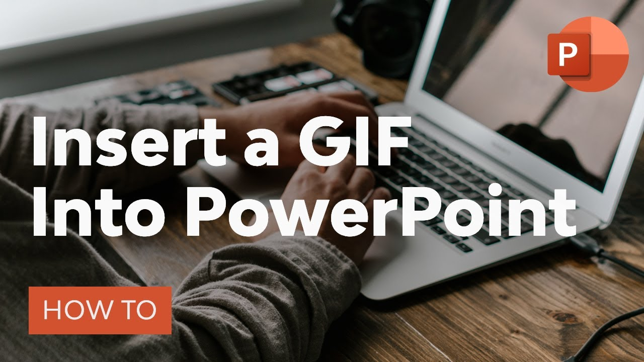 How To Insert A Gif Into Powerpoint Youtube