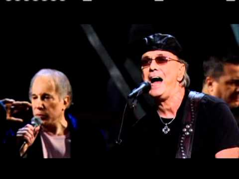Paul Simon and Dion Rock and Roll Hall of Fame 25th Anniversary shows