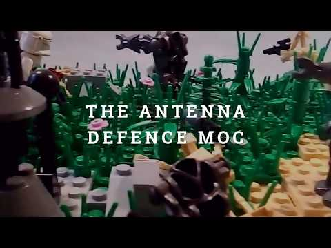 The antena defence MOC (Firs Order LEGO MOC moc contest entry