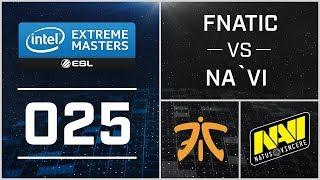 #25 - ESL One Katowice 2015 - Fnatic vs NaVi
