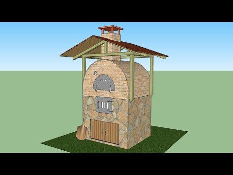 v.02 / brick oven / pizza oven / brick oven build / taş fırın / köy fırını yapımı
