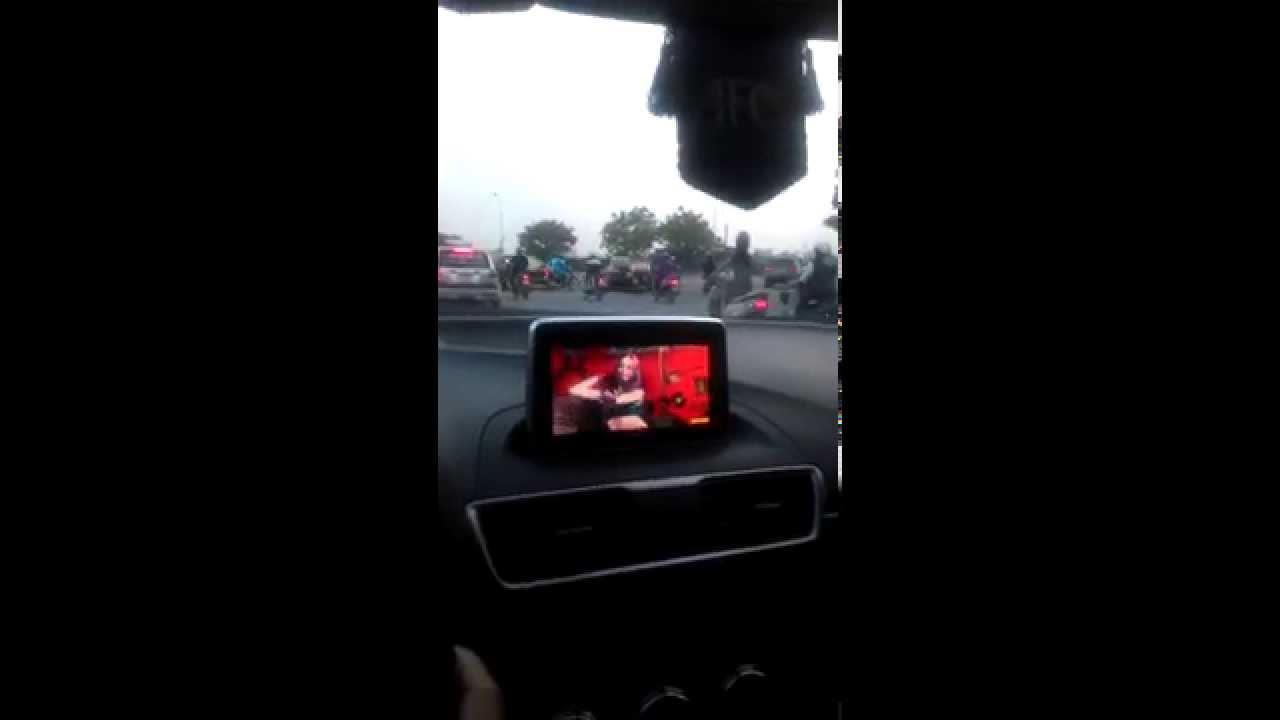 Mazda Navigation Hack >> Hack Maps - DVD - Speed on Mazda 3 All New - YouTube