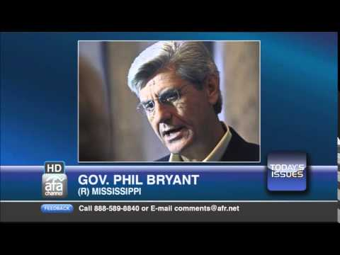 Gov. Phil Bryant on Today's Issues