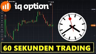 IQ Option Turbo - 60 Sekunden Binäre Optionen Handel!