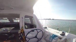Seawind Catamaran 1160 Lite Departing Vung Tau, HCM